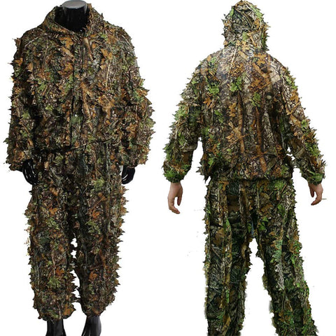 3D Leaves Ghillie Suit
