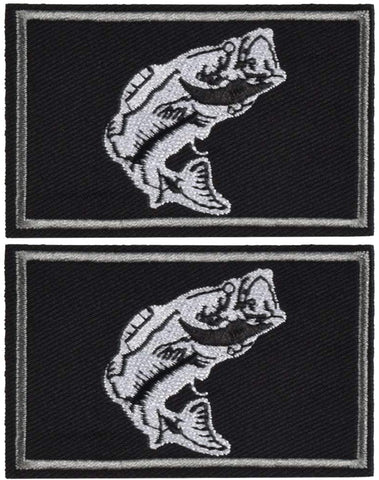 2Pcs Fishing Patches
