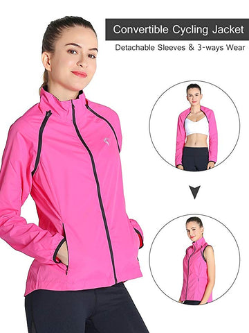 Womens Windbreaker Jacket Vest