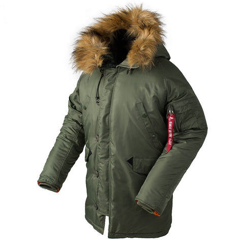 Men's Slim Fit N-3b Parka