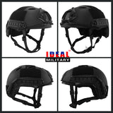 Tactical Fast PJ Base Jump Military Helmet with 12-in-1 Headwear