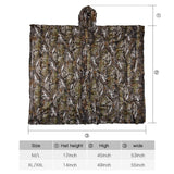 3d Maple Leaf Ghillie Poncho