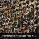 3D Bionic Tree Camouflage Netting Blind