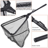 Foldable Collapsible Telescopic Fishing Net Durable Strong Safe Catch and Release Fish Landing Net FN001