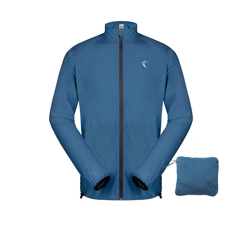 Men's Packable Windproof Cycling Jacket