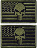 2 Pieces Velcro Patches