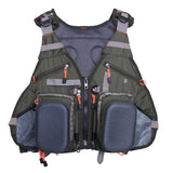 Kylebooker  Premium Mesh Fishing Vest Pack With Multi-Pockets For Men And Women FV02