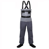 Kylebooker Waterproof Breathable Stockingfoot Chest Wader Premium Five Layer Fabric Fishing Hunting Waders KB007