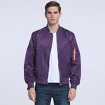 Men's MA-1 Skymaster Water Resistant Flight Bomber Jacket