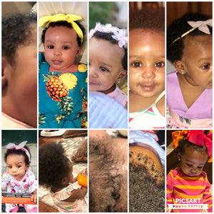 Tips For Washing Little  Black Girls Hair