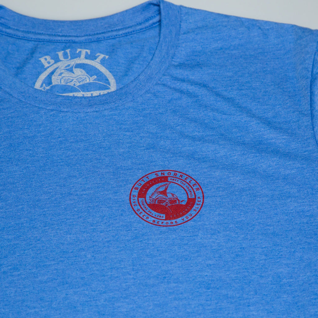 Bullseye T-Shirt - Royal Blue