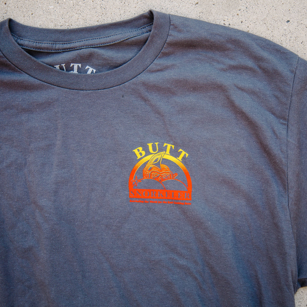 'Volcano Flavor' Shaved Ice BS Logo tee