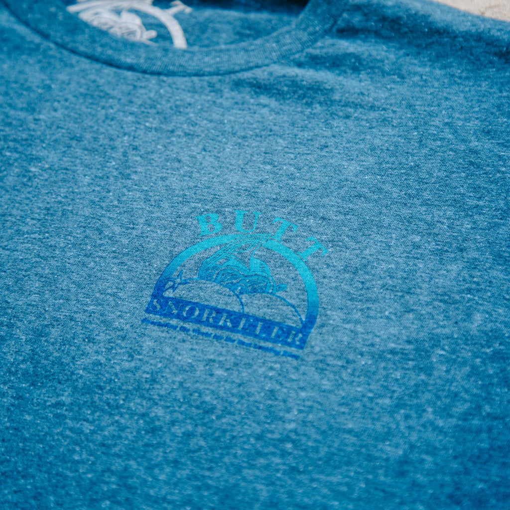 'Blue Hawaiian Flavor' Shaved-Ice BS Logo Tee