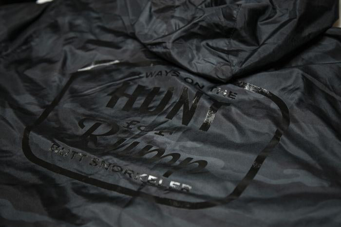 Hunt for Rump Windbreaker - BlackCamo