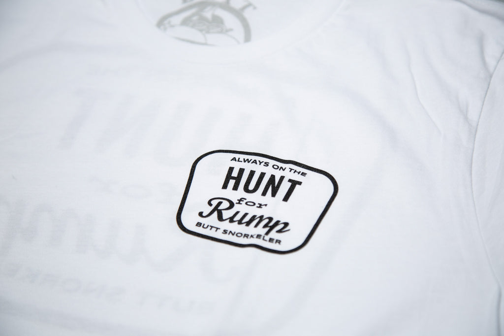Hunt For Rump - White - Long Sleeve