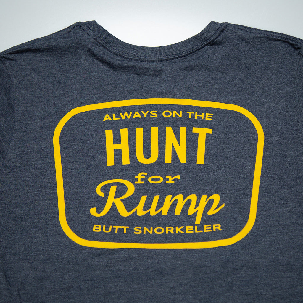 Hunt For Rump - Navy - Long Sleeve
