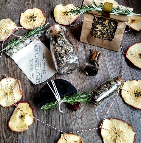 O C T O B E R ||  HALLOWEEN || Samhain Self-Care Ritual Toolkit