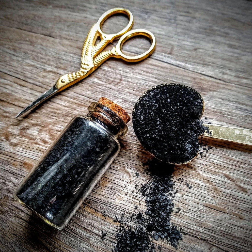 Black Salt || Witch's Salt || Protection & Banishment - The Rex Apothecary is now SPIRIT HAUS Botanicals