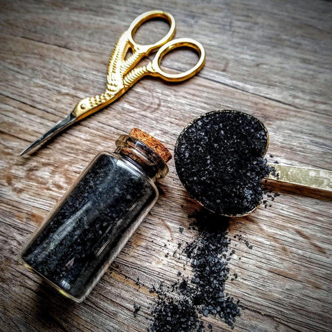 Black Salt || Witch's Salt || Protection & Banishment