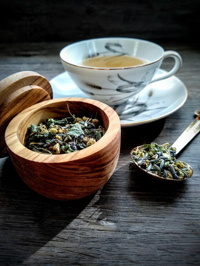 Wind Down Tea || Relaxation & Anxiety Support || Air Element - The Rex Apothecary is now SPIRIT HAUS Botanicals