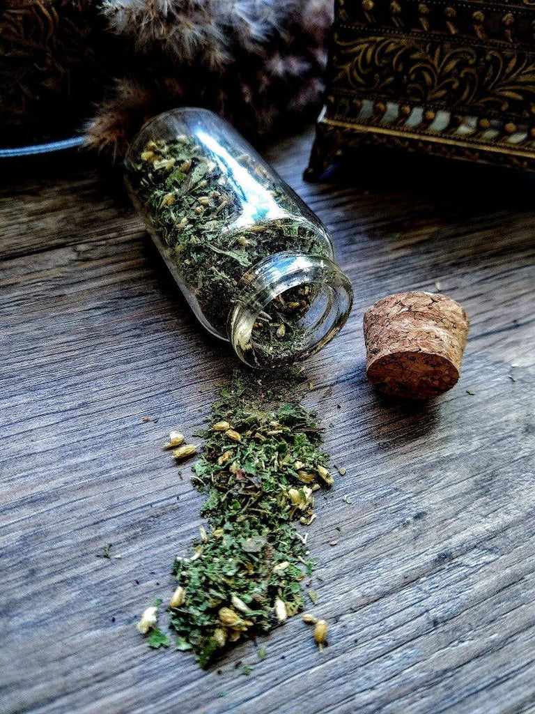 Let It Go Burn Blend || Loose Smoke Cleansing Herbs for Protection + Strength + Cleansing || Waning Moon - The Rex Apothecary is now SPIRIT HAUS Botanicals