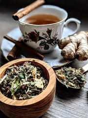 Moon Tea || Menstruation Cycle Support - The Rex Apothecary is now SPIRIT HAUS Botanicals