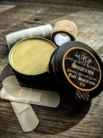 Supreme Salve || All-Purpose Healing Ointment || Scrapes, Stings, Eczema, & more || 2oz 60mL