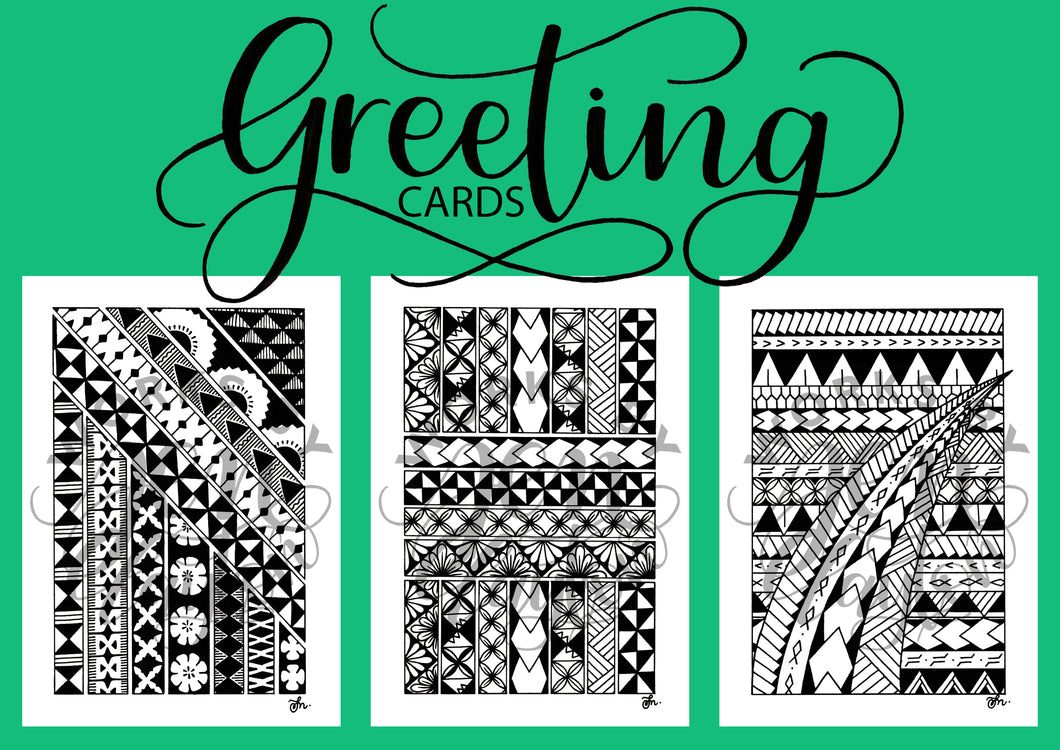 Polynesian Greeting Cards