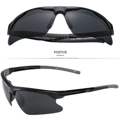 2018 New Fashion Polarized Sunglasses Mens Coating Mirrored Polaroid Lens UV400