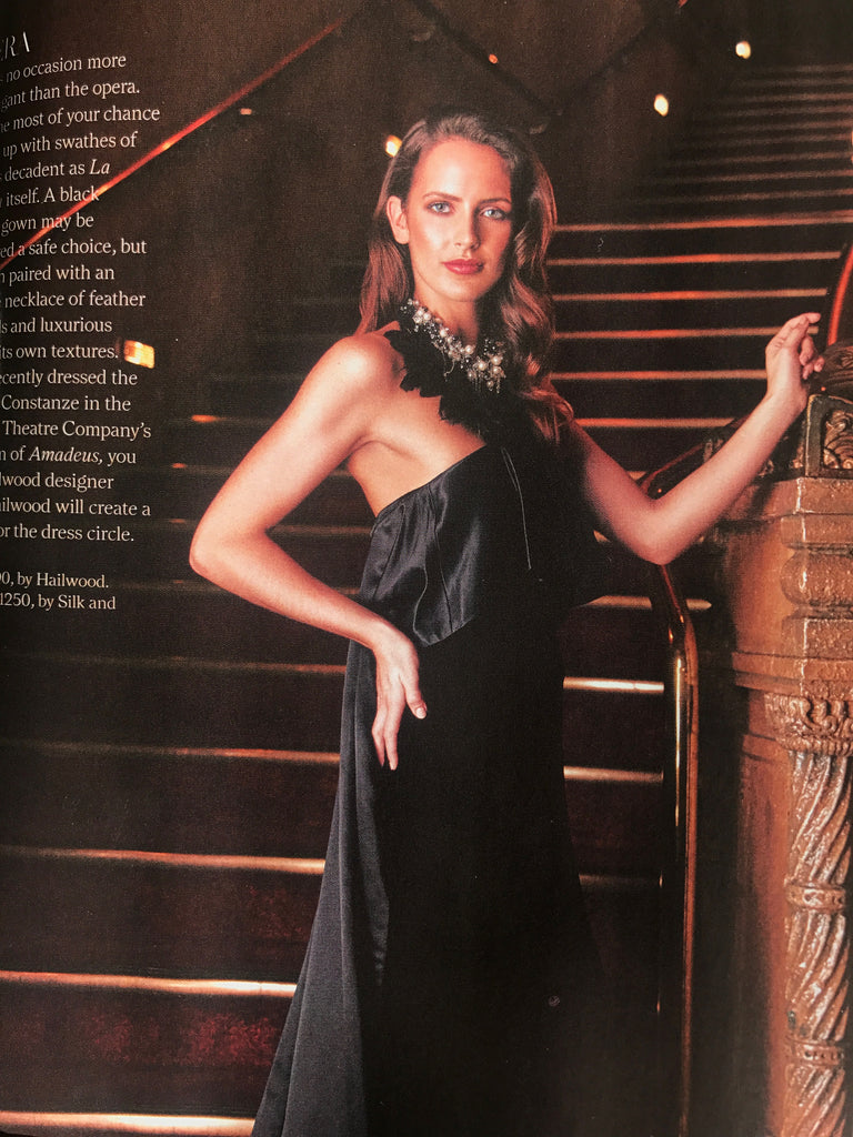 Simply You Magazine Silk&Steel Jewellery Tribal Goddess Neckpiece