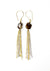 Golden Dawn / Smoky Quartz + Gold / Earrings