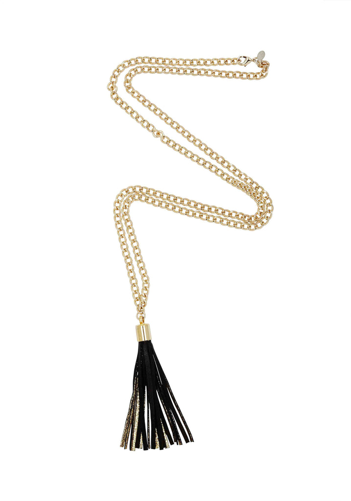 Opulent Lust / Gold + Black / Necklace