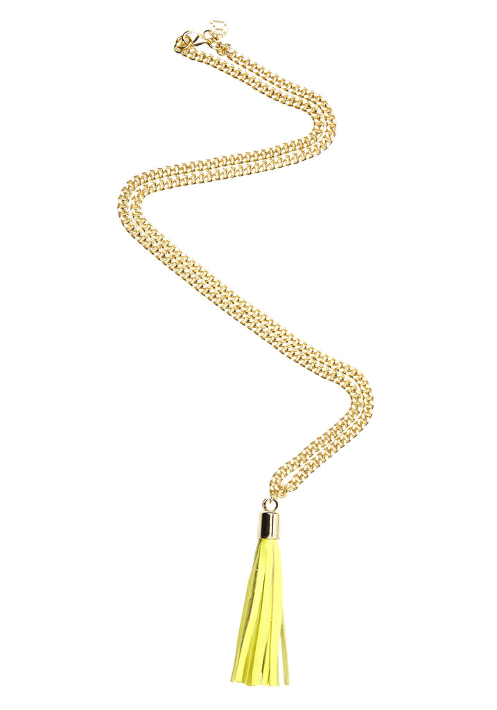 Opulent Lust / Gold + Yellow / Necklace