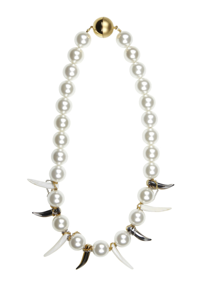 Tribal Pearl / White / Bespoke Necklace