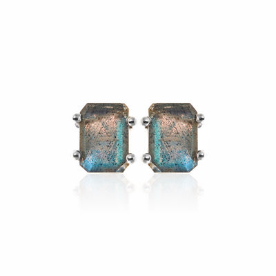 Silk&Steel Jewellery Prima Donna Labradorite and Silver Earrings La Dolce Vita