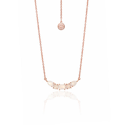 amazon gold uk co rose necklace heart slp