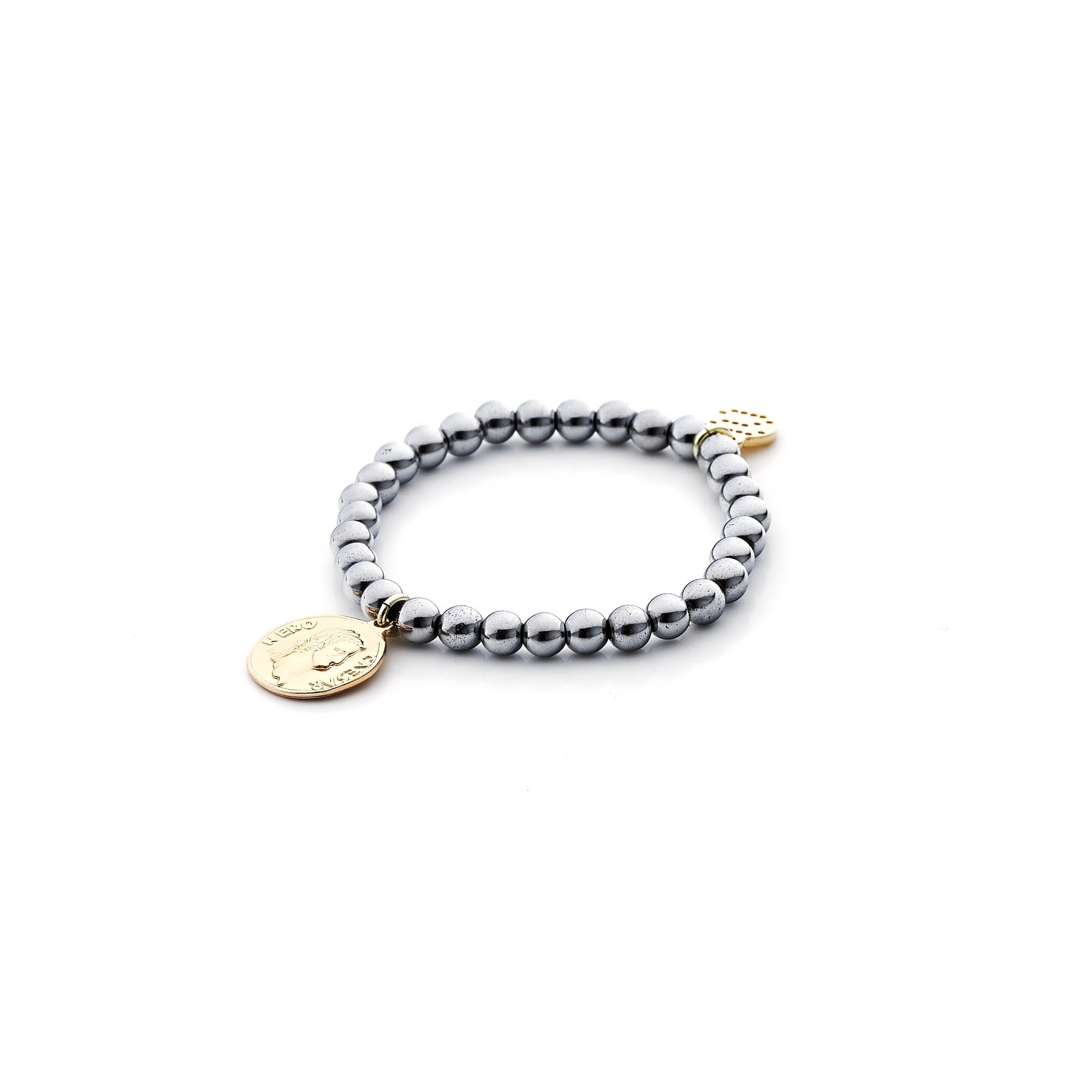 Love Child / Bracelet / Silver + Gold