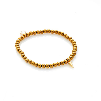 Silk & Steel In The Detail Bracelet Gold