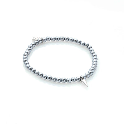 Silk & Steel In The Detail Bracelet Silver