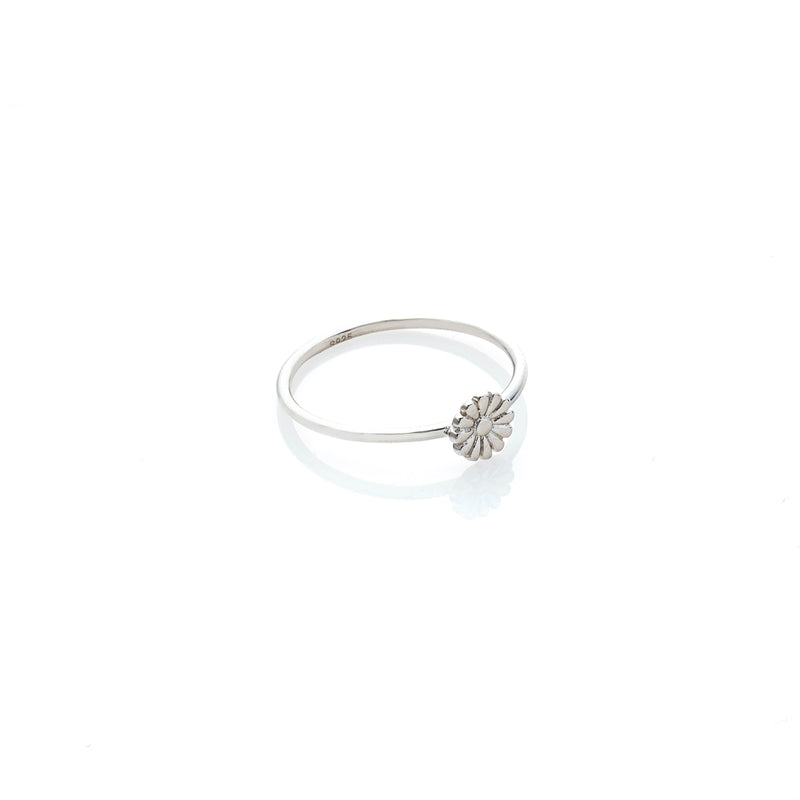Silk & Steel Jewellery Superfine Daisy Ring Silver