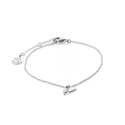 Silk & Steel Jewellery Sterling Silver Superfine Storm bracelet