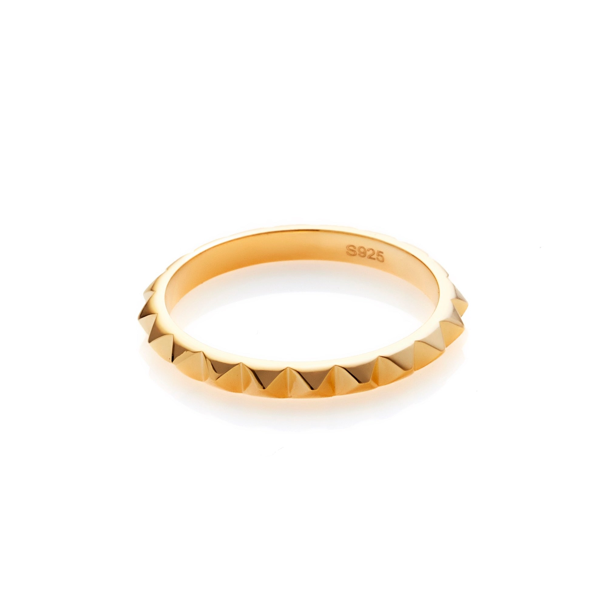 Patiently / Gold / Ring