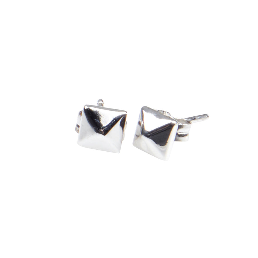 Silk & Steel Hierarchy Sterling Silver Earrings