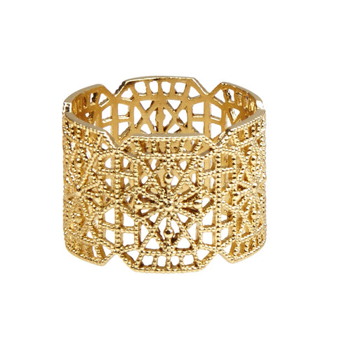 Superluxe / Ring / Botanic Lace / Gold