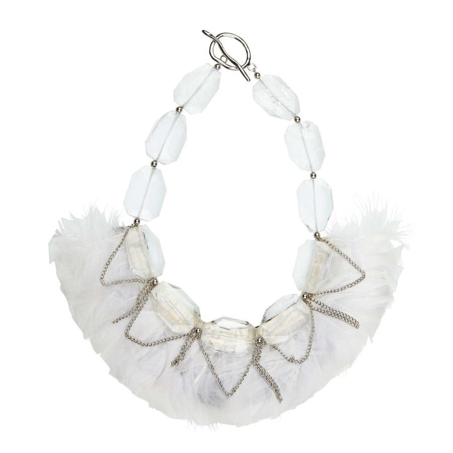 Silk&Steel Jewellery - Light Hearted Neckpiece
