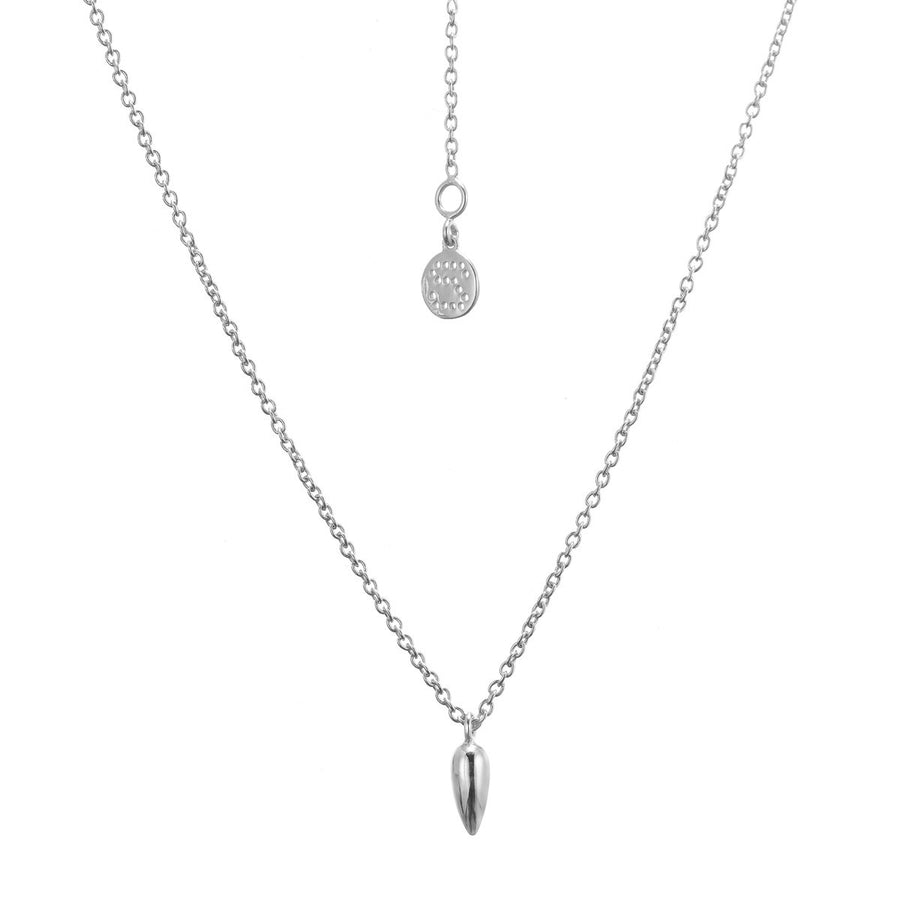Silk&Steel Jewellery - Superluxe Anther Necklace Silver
