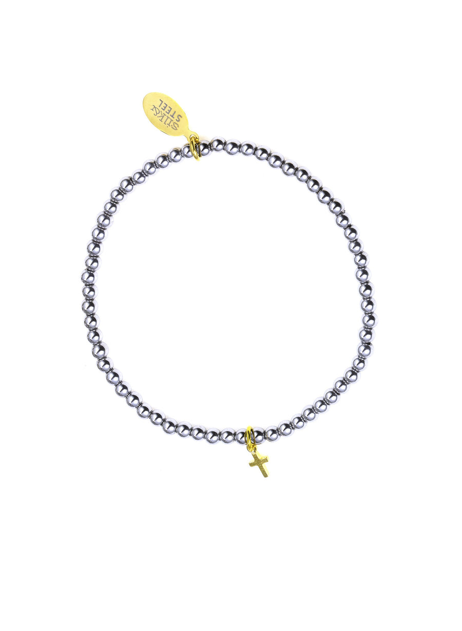 Peace of Mind / Silver + Gold / Bracelet