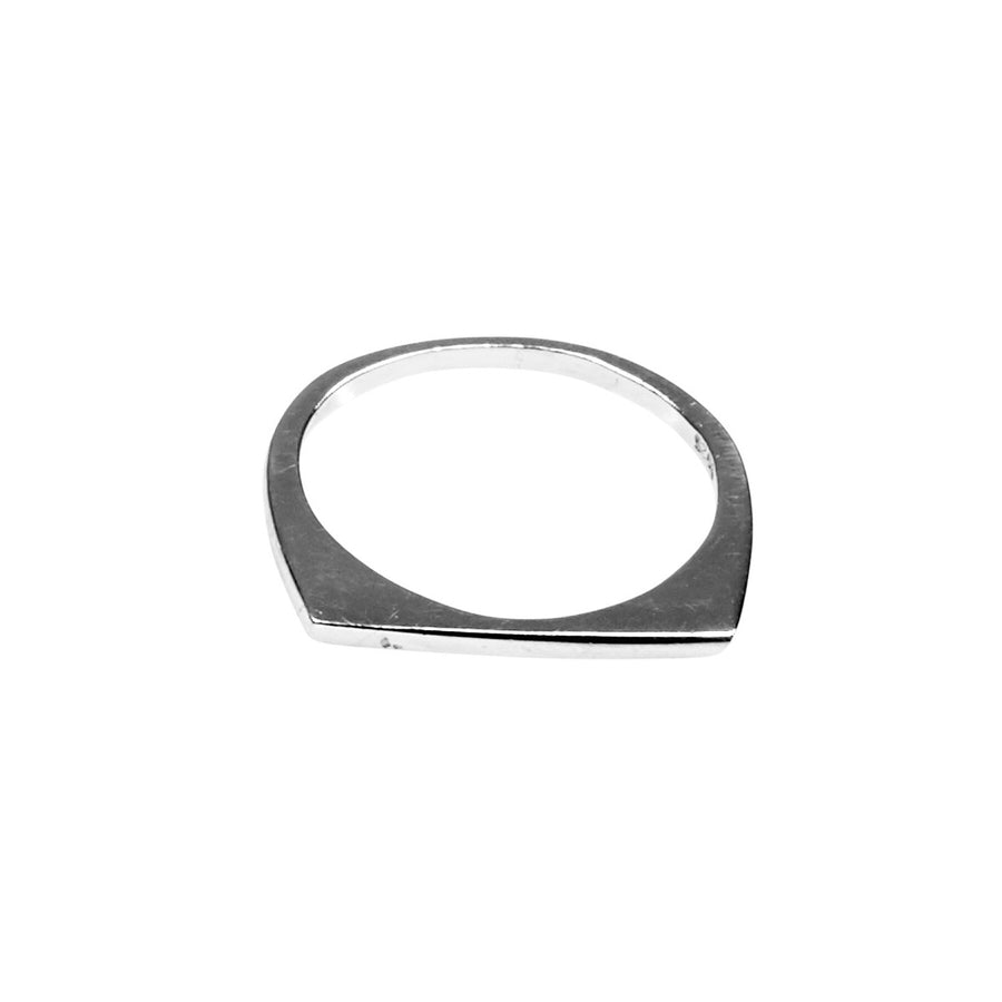 Silk & Steel You're Barred Sterling Silver Ring