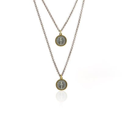 Silk&Steel Jewellery Divine necklace - Faithful