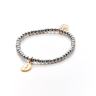 Silk&Steel Jewellery Love and Light Silver Bracelet - Faithful